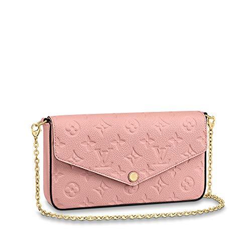 Louis Vuitton Pochette Felicie Monogram Empreinte Leather (Rose Poudre)