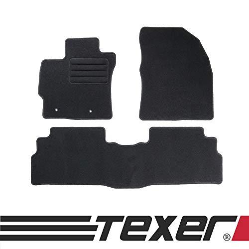 CARMAT TEXER Textil Fußmatten Passend für Toyota Verso Bj. 2009-2013 Basic