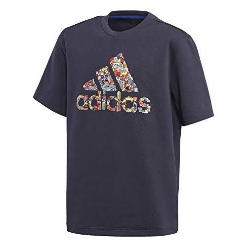 adidas Jungen B Art Tee Unterhemd, Tinley, 140 (9/10 años)