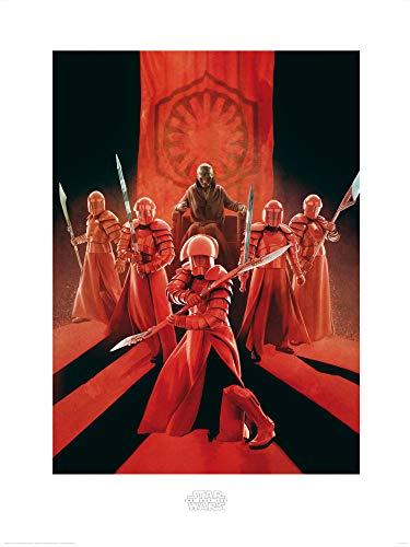 1art1 Star Wars - Episodio VIII Los Últimos Jedi, Snoke Guardia Pretoriana De Élite Póster Impresión Artística (80 x 60cm)