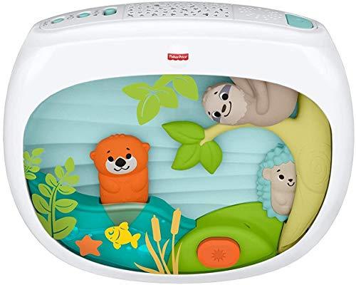 Fisher-Price FXC59 - Spieluhr mit Sternenhimmel Projektor Einschlafhilfe für Babys, Babyerstausstattung ab Geburt