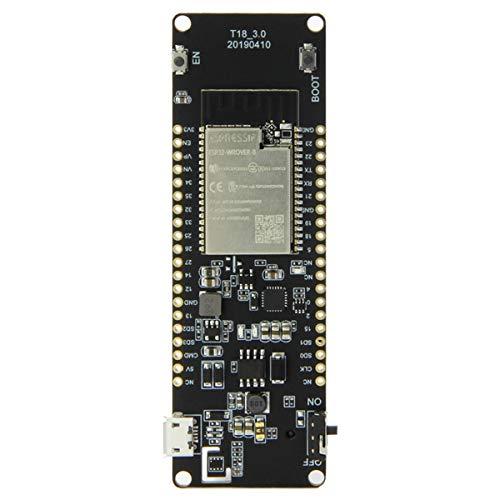 Kesilian T-Energy ESP32 8 MByte PSRAM ESP32-WROVER-B WiFi y Junta de Desarrollo de la batería del módulo Bluetooth