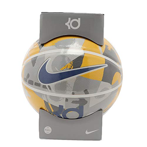 Nike KD Kevin Durant Playground 8P Basketball Full Size (Amarillo/Grau/Weiß/Blau)