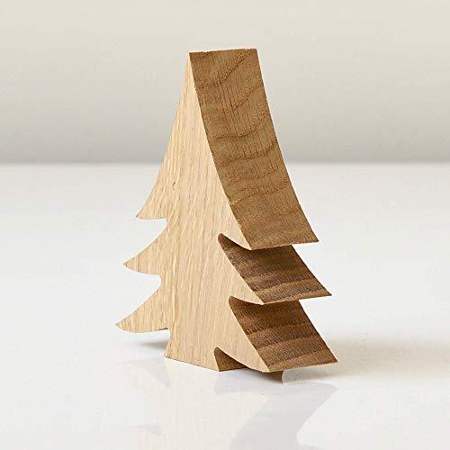 Tannenbaum aus Holz zum Aufstellen in unterschiedlichen Größen als Weihnachtsdeko, Holztanne, Holztannenbaum, Holzdeko