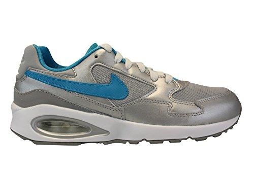 Nike Air Max ST (GS), Scarpe da Running Donna, Argento Blu Verde Mtllc Silver Bl Lgn Elctr Grn, 36 EU
