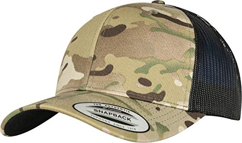 Flexfit Retro Trucker Multicam Kappe One Size