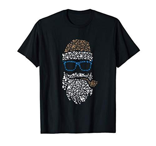 Santa Claus de Navidad - Silbato Marinero Barba de Hipster Camiseta