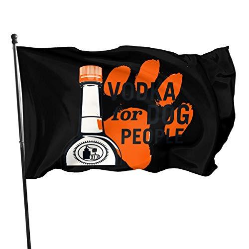 Not Applicable Welcome Gartenflagge,Willkommensflagge,Politische Flaggen,Garten Fahne Vertikal,Wodka - Wodka Für Hundeleute 3'X5'Ft,Haus Yard Banner,Saisonale Polyester Flagge