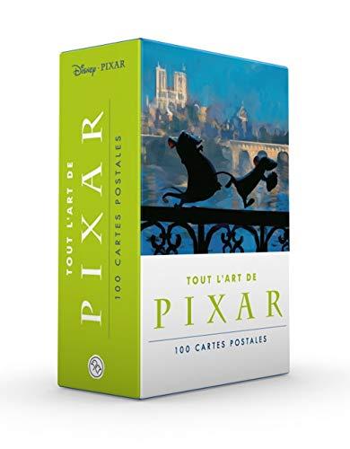 Tout l'art de Pixar en 100 cartes postales