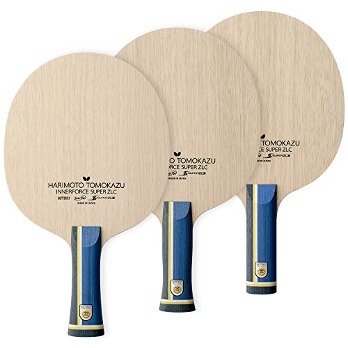 Butterfly Harimoto Innerforce Super ZLC Table Tennis Blade - Super ZL Carbon Blade - Professional Table Tennis Blade - Available in an, FL, and ST Shakehand Handle Styles - Made in Japan