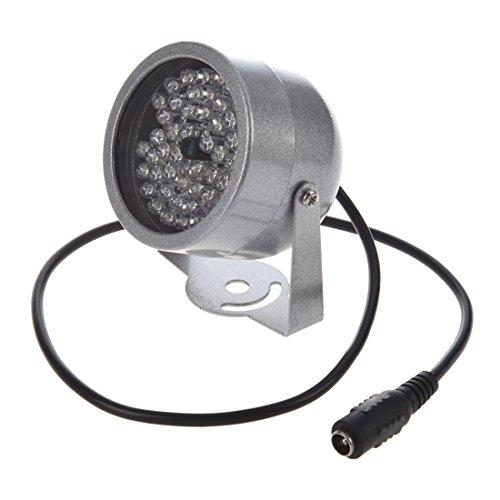 REFURBISHHOUSE 48 LED Iluminador Luz de vision nocturna infrarroja IR Lampara de seguridad para camara CCTV