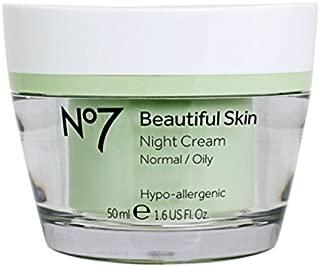 Boots No7 Beautiful Skin Night Cream - Normal / Oily 1.6 oz.
