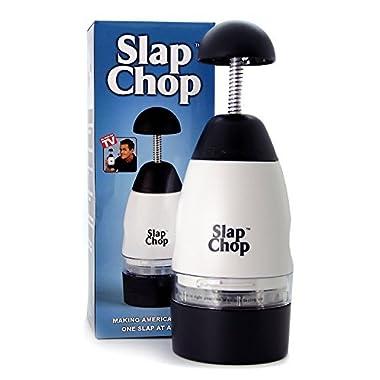 Original Slap Chop Slicer ● Stainless Steel Blades ● Vegetable Chopper Gadget ● Mini Chopper for Salads ● Kitchen Accessory