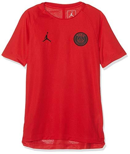 Nike Kinder PSG Y NK Dry SQD SS GX CL T-Shirt, University red/Black, XS