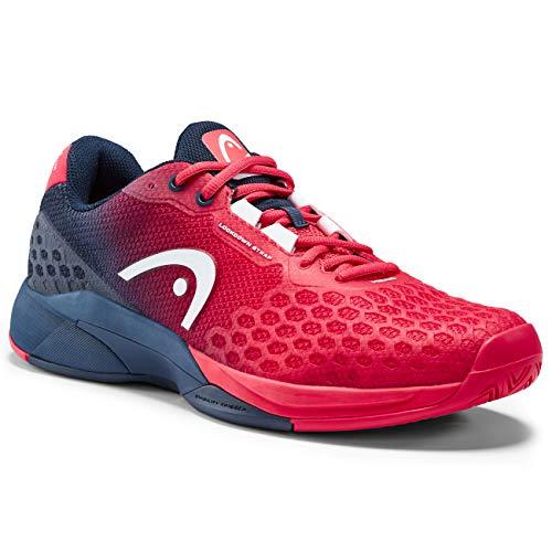 Head Revolt Pro 3.0 Homme Zapatos de Tenis, Red/Dark Blue,