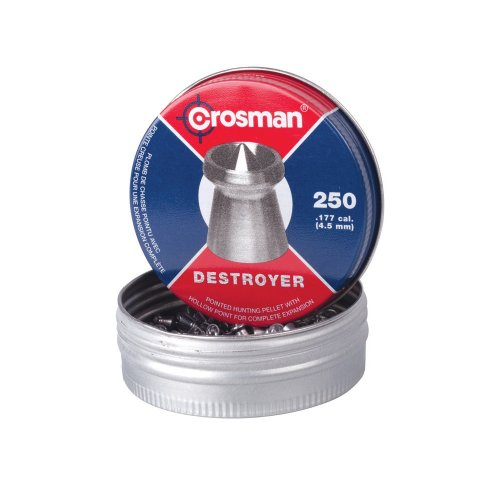 Crosman DS177 .177-Caliber Destroyer Pellets (250-Count)