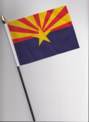25cm große Handflagge vom US-amerikanischen B&esstaat Arizona