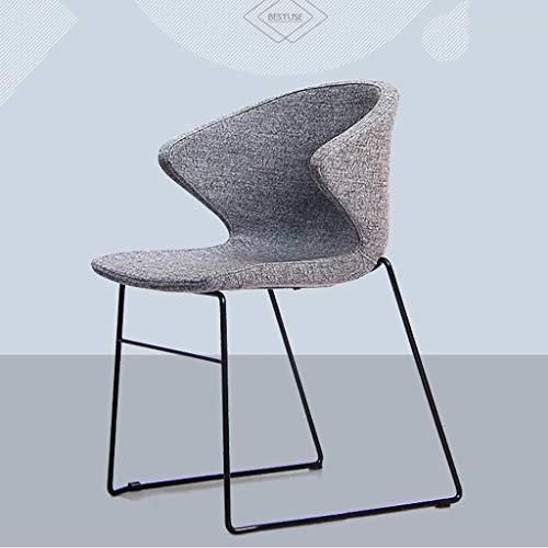 Luck7DB stoel Scandinavische creatieve ontwerper rugleuning stoel eenvoudige receptie conferentie stoel