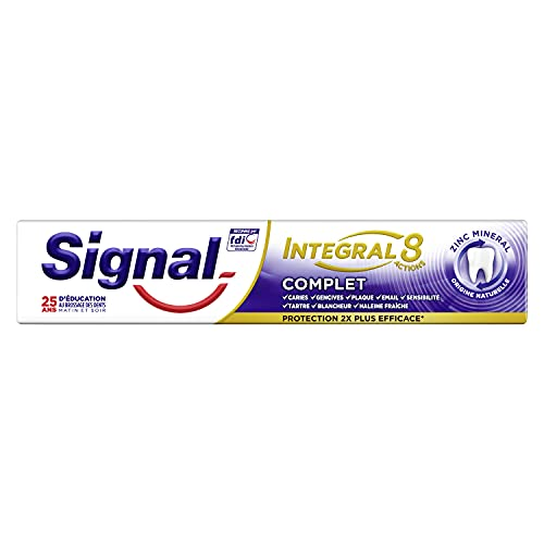 Signal Dentifrice Integral 8 Complet, Protection...