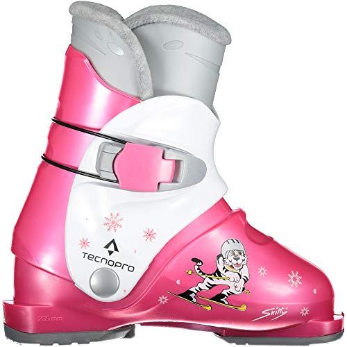 TECNOPRO Kinder Skitty Skistiefel, pink/Weiß, 20.5