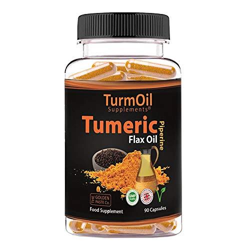 The Golden Paste Company TurmOil Turmeric Supplement - 90 Capsules