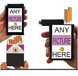 Cigarette Case SEND Your Own Picture Built on Lighter Holder Box Kings 100's RYO
