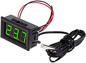 JAGETRADE Garden Tools -50 110 12v Digital LED Thermometer Car Temperature Monitor Panel Meter Green