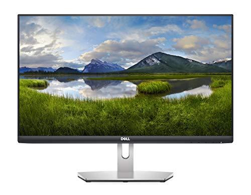 Dell S2421H, 24 Zoll, Full HD 1920x1080, 75 Hz, IPS entspiegelt, 16:9, AMD FreeSync, 4 ms (extrem), neigbar, int.Lautspr., VESA, HDMI, 3 Jahre Austauschservice, platinum silber