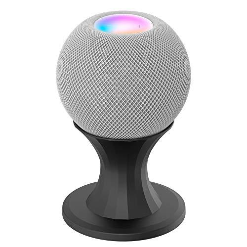 Ousyaah Soporte para Altavoz Inteligente Apple HomePod mimi, Apple HomePod Mini Soporte de Escritorio, Speaker Stand para cocina, dormitorio, sala de estar (Negro)