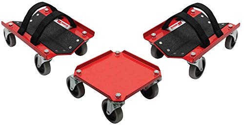 Extreme Max 5800.0228 V-Slides Snowmobile Dolly System -...