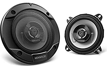 Kenwood KFC-1066S 220 Watt 4-Inch Coaxial 2 Way Stereo Car Audio Speaker  1 Set