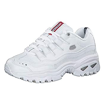 Skechers Sport Women s Energy Sneaker,White/Millennium,8.5 M US