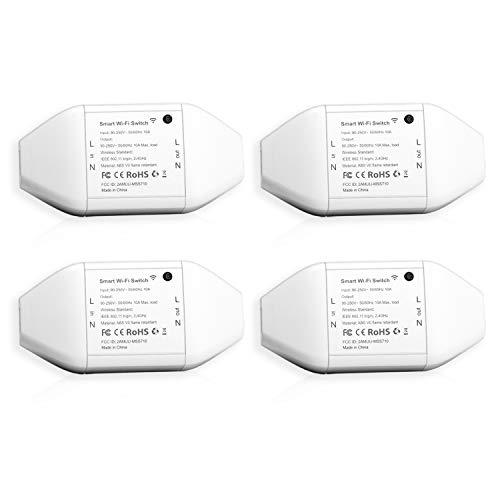 4 interruttori Meross smart Wi-Fi a 18,99€ con coupon Amazon