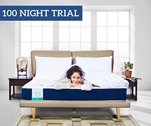 Flo Ortho High Resilience + Proprietary Responsive Foam Mattress, 75x36x6 Inches (Single)