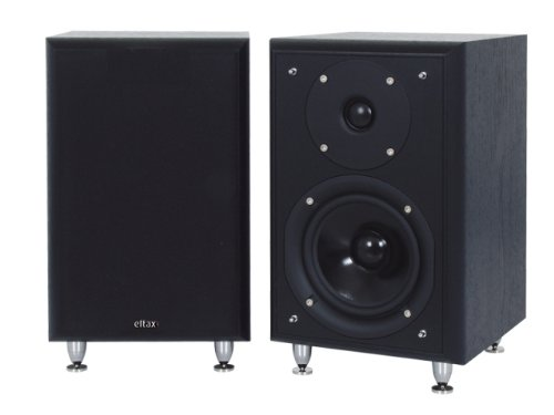 Eltax Monitor III altavoz 90 W Negro - Altavoces (2.0 canales, 90 W, 50-22000 Hz, 8 Ω, Negro)