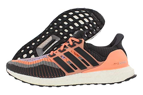 adidas Damen Ultra Boost W, Sun Glow Yellow/Solid Grey/Glow Purple, 40 EU