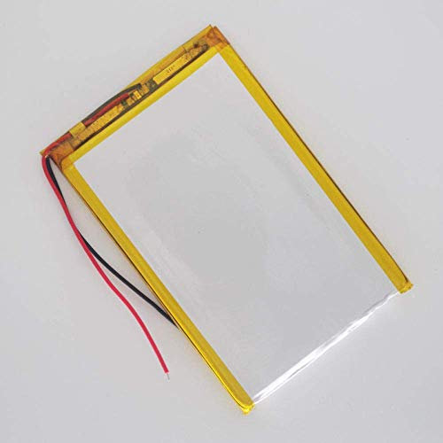 Batería de Respaldo de Alto Rendimiento 5369106 5000MAH 3.7v Batería de polímero de Litio li po Ion lipo baterías Recargables para Tablet PC-3.7V_1PCS (Color : 1pcs)