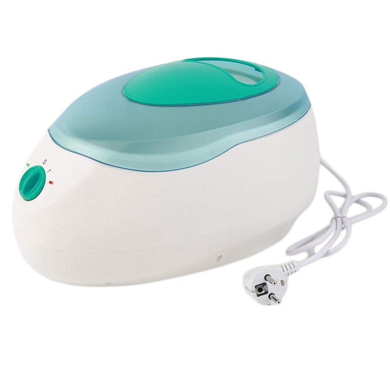 いわゆる可動デクリメント手および足ボディワックスの毛の取り外しのためのワックス機械パラフィン療法の浴のワックスの鍋のウォーマーの美容院装置の鉱泉150W,グリーン