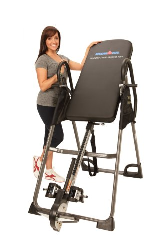 Cheapest Prices! IRONMAN High Capacity Gravity 3000 Inversion Table, 350 lbs