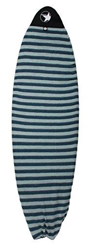 "PAMGEA Surfboard Sock Cover (Aqua, Hybrid, 5'8"")"