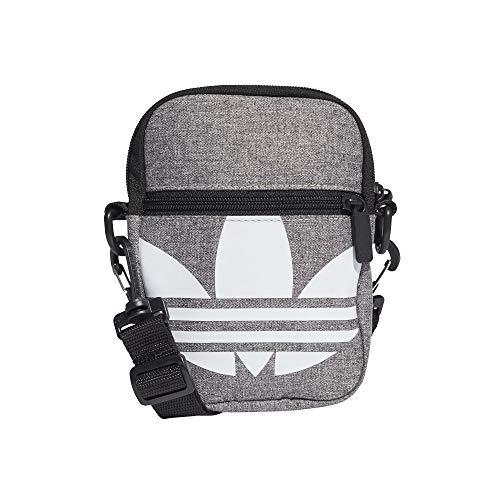 Adidas Festival Trefoil Mini Bag - Bolsa (talla única), color gris