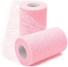 pink decorator fabric