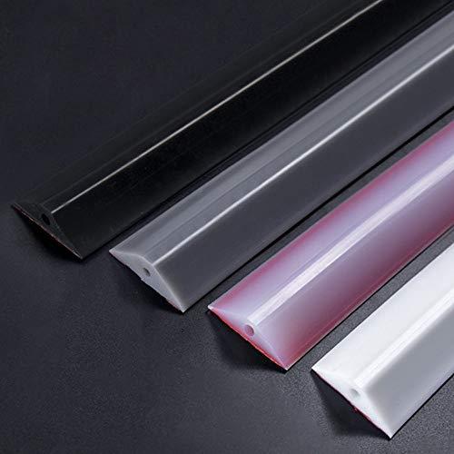 XXCC Silikon-Wassersperre für,Frei biegbarer,einteiliger Kleber,leicht zu reißen und zu kleben,weiches Silikonmaterial,Silikon-Wassersperre für,duschkabinen dichtungen