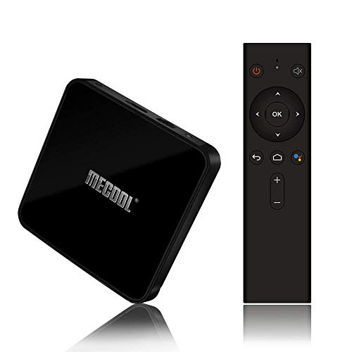 Smart TV Box con Amlogic S905X2 Quad-Core, 4GB RAM 32GB ROM, Soporte 2.4G/ 5G Dual Band WiFi 4K Full HD BT 4.0