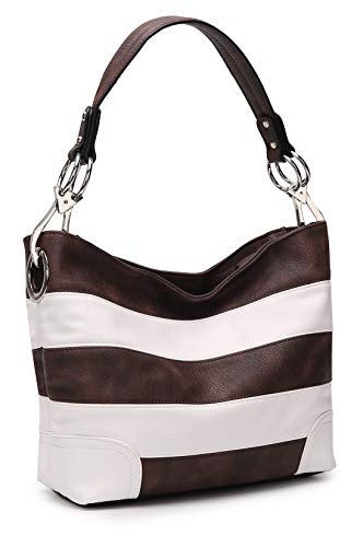 NOTICE: This bag is part of the MKF Collection by Mia K. And has no association with Mia Farrow: Chic and Stylish: Thanks to versatile design, our fashion hobo bags are stylishly casual for work and shopping! Choose a color that matches your dress or...