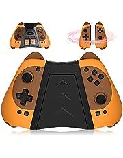 Kingear Mandos Controller for Consola Switch, KINGEAR Mando Pro Controller for Videojuegos Animal Crossing, Encantador Regalo Mujer Regalo Hombre Diviértanse Juntos