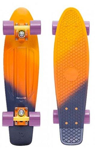 Penny Skateboard Complet Dusk Jaune Orange Purple 22'
