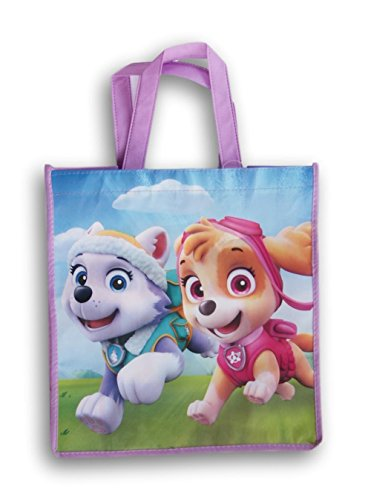 Paw Patrol Girls Tote Bag - 12.5 Inches x 13 Inches