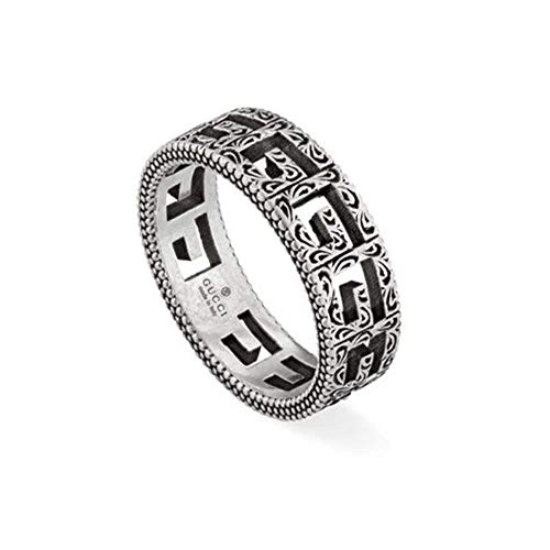 Gucci g cube silver ring SIZE U