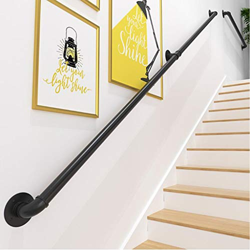 Bronze Sand USA Made Railing- Easy To Install Handrails for Outdoor /& Indoor Stairs Stair Handrail Porch /& Deck Stair Handrail Aluminum Handrail Direct AHR 3 Handrail Section with Mounts